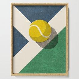 BALLS / Tennis (Hard Court) Serving Tray