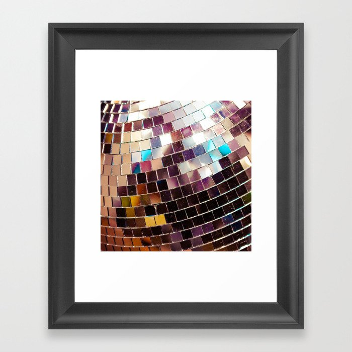 Disco Ball Gerahmter Kunstdruck