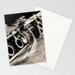 Clarinet Stationery Cards