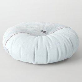 foam and sand 2 Floor Pillow