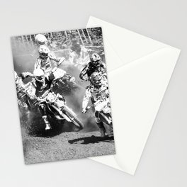 Dusty Race Stationery Cards