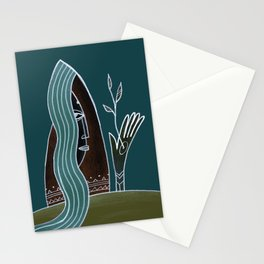 Mother Nature Art Stationery Cards