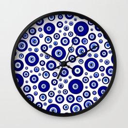 Evil eye Nazar Wall Clock