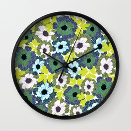 Rooftop Garden-Spring Wall Clock