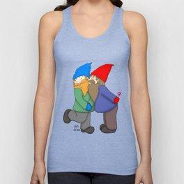 Gnomes In Love Unisex Tank Top