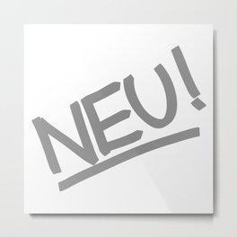 NEU! Metal Print