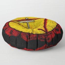 Manipura or manipuraka Floor Pillow