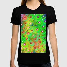 A Crash of Colors, fantasy art T-shirt
