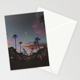 Spaced-Out Night Stationery Cards