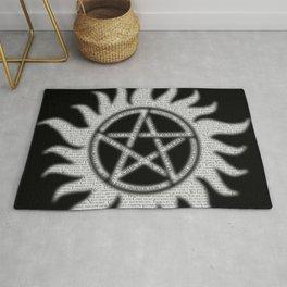 Carry On Supernatural Pentacle Rug