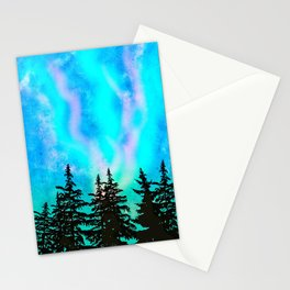 Dance over the forest Stationery Cards