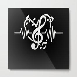 Musician Gifts Metal Print