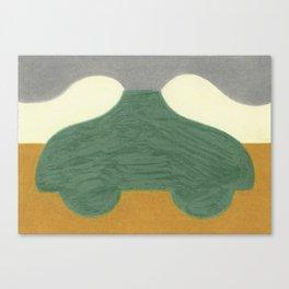 The Onion Soup Car Canvas Print