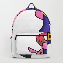 Police security Donut children Pig Gift Backpack