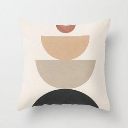Geometric Modern Art 31 Throw Pillow