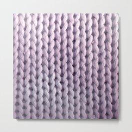 hygge: lilac Metal Print