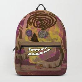 Skull in a Tubular Landscape Backpack