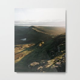 The Quiraing - scotland, isle of skye, landscape, nature, mountains Metal Print
