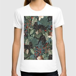 Tropical Black Panther T-shirt