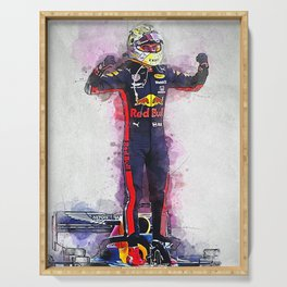 Max Verstappen Serving Tray