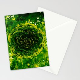 bacteria wsgr Stationery Cards