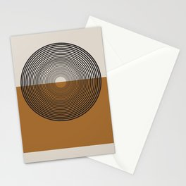 Mid Century Style, Retro  Stationery Cards