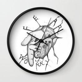 Jesus - Take My Helping Hand Wall Clock
