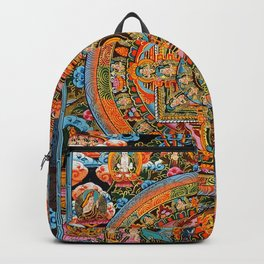 Mandala Buddhist 12 Backpack