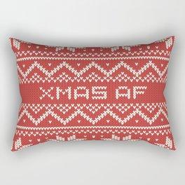 XMAS AF Rectangular Pillow