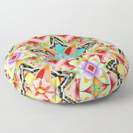 Boho Gypsy Caravan Floor Pillow