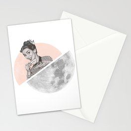 The Moon III Stationery Cards