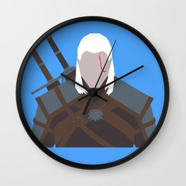 Geralt of Rivia - The Witcher Wall Clock