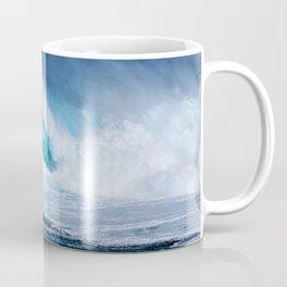 Wave Series Photograph No. 5 - Thirty Foot Roller Coffee Mug