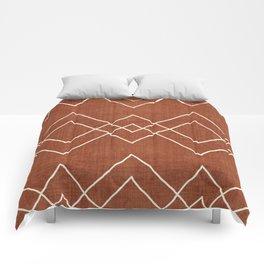 Nudo in Rust Comforters
