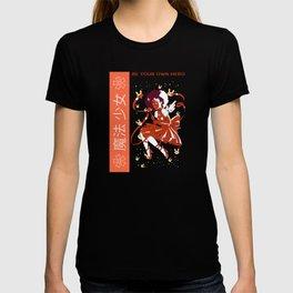 Be your own Hero Black Anime Fairy Girl T-shirt