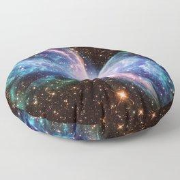 Butterfly Nebula 2 Floor Pillow