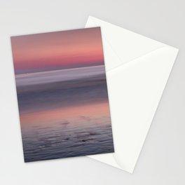 Barrosa beach at sunset. Sancti Petri Stationery Cards