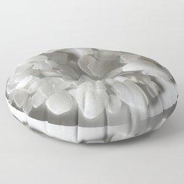 White on White on White Floor Pillow