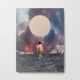 Pearlescent Wanderer Metal Print