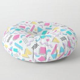 Memphis Shapes Floor Pillow