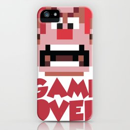 The Game Is Over iPhone Case