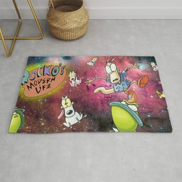 Rocko's Modern Space-Life Rug
