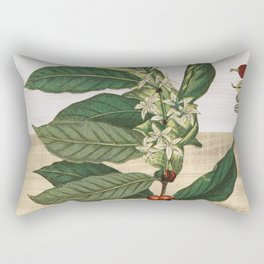 Coffea arabica Rectangular Pillow