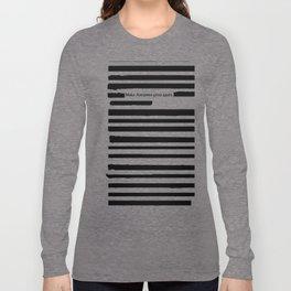 Alternative Facts Cyrillic Long Sleeve T-shirt