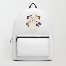 Rockstar Musician Guitarist Life Is Full Of Important Choices  Guitar Collector Gift Backpack