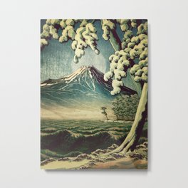 5 Lakes at Moonlight Metal Print