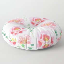 Peony flower Floor Pillow