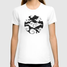 Japanese Circle 3 Clouds T-shirt