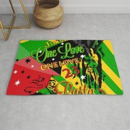 Reggae Rasta Party Rug