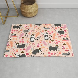 The Badger Detectives Rug